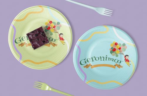 """Logo pentru Agentie de Petreceri """" Geronimoo"""""""
