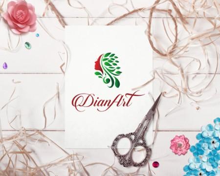 Logo pentru magazin de bijuterii handmade DianArt