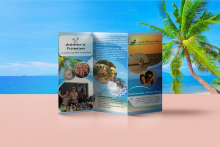 Flyer pentru agentie de turism