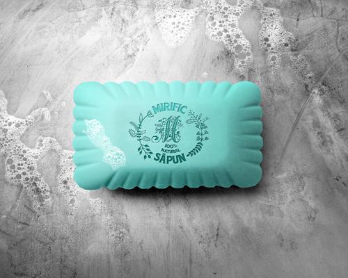 """Logo pentru magazin de sapun natural """" Sapun Mirific"""""""