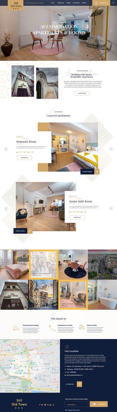 Stil Old Town Web Design